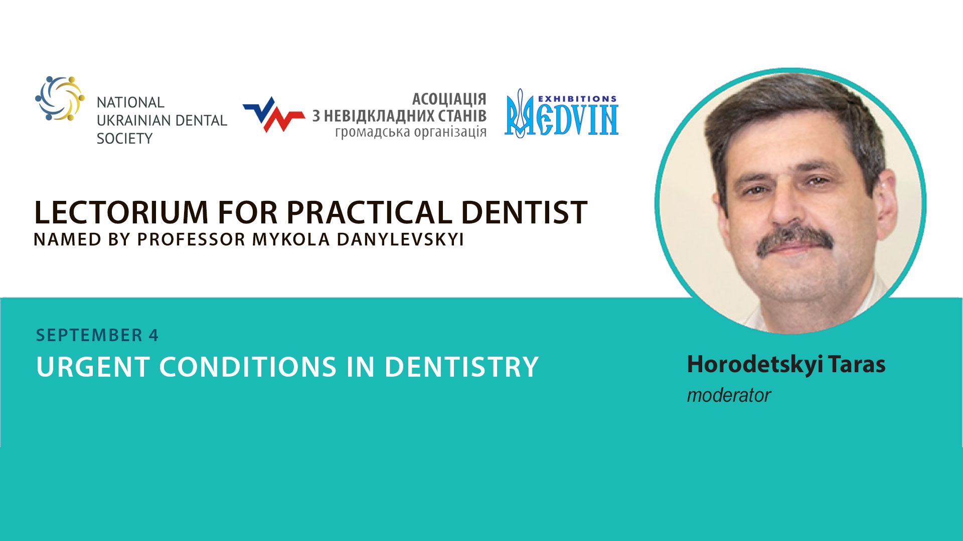 Urgent conditions in dentistry
