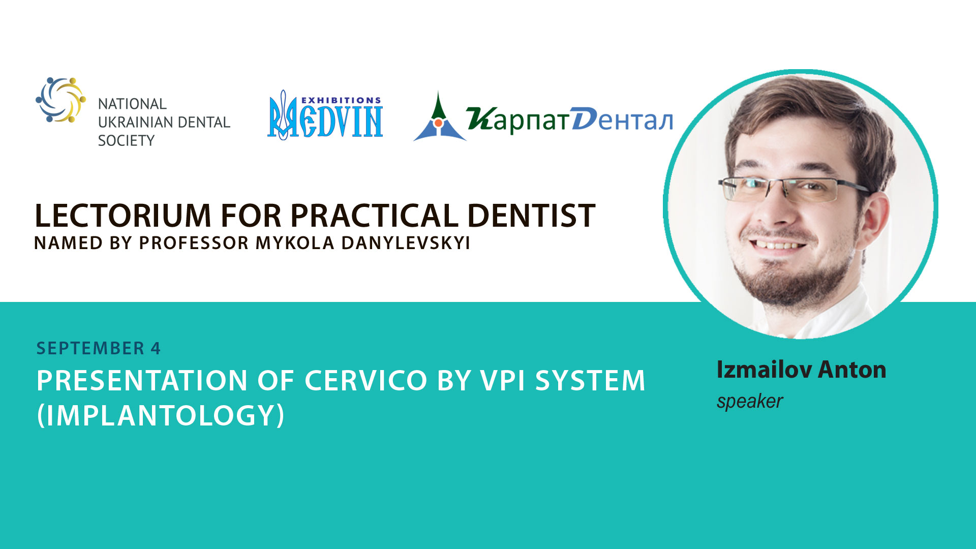 Lecture-presentation from Carpathian-Dental